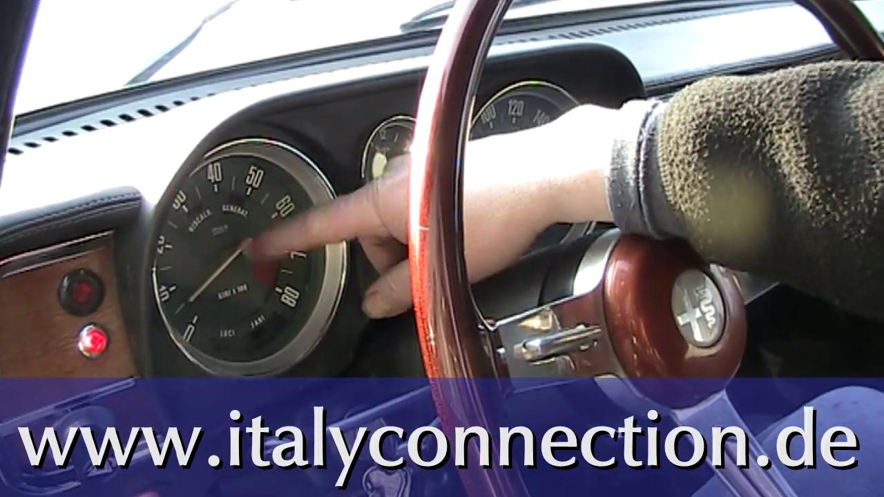 Austausch und Reparatur bzw. Wechsel einer Drehzahlmesserwelle beim Alfa Romeo Oldtimer