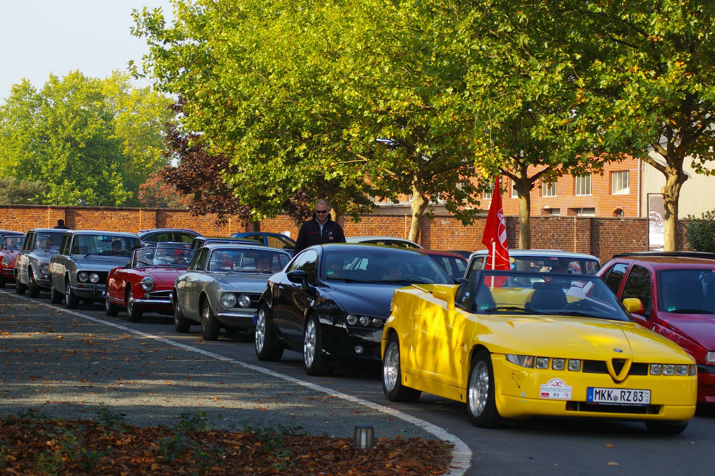 Videofilm von der Ausfahrt des Alfa Romeo Club im Herbst 2011