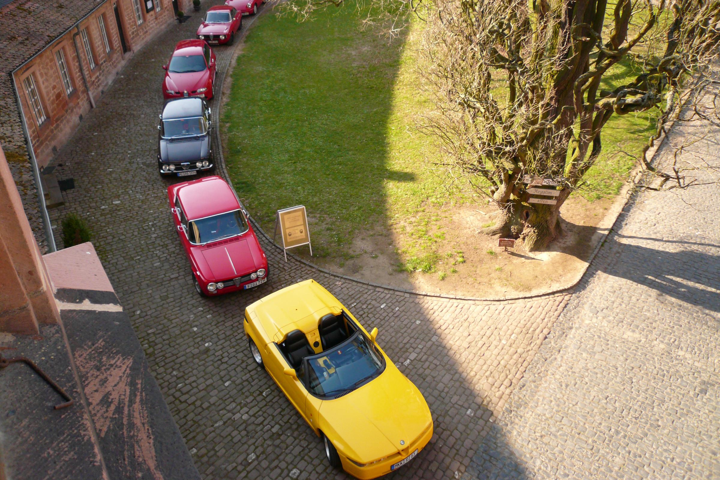 Videofilm von der Ausfahrt des Alfa Romeo Club im Frühjahr 2007