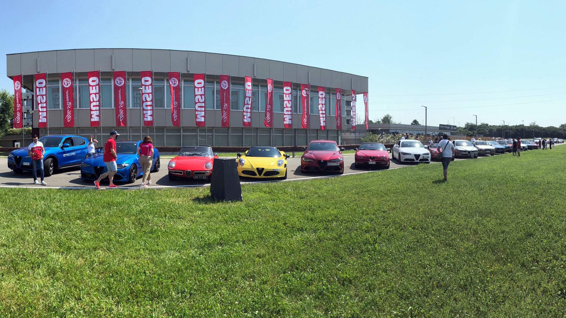 "110 Jahre Alfa Romeo - Jubiläum im ""Museo Storico Alfa Romeo"" in Arese"