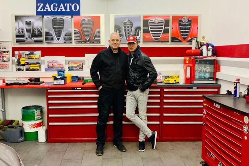 Ölwechsel und Software-Update für Blue & Me beim Alfa Romeo Typ 159, 2.4 Liter, JTDM TI, in der Werkstatt beim Alfadoktor Robert Clever