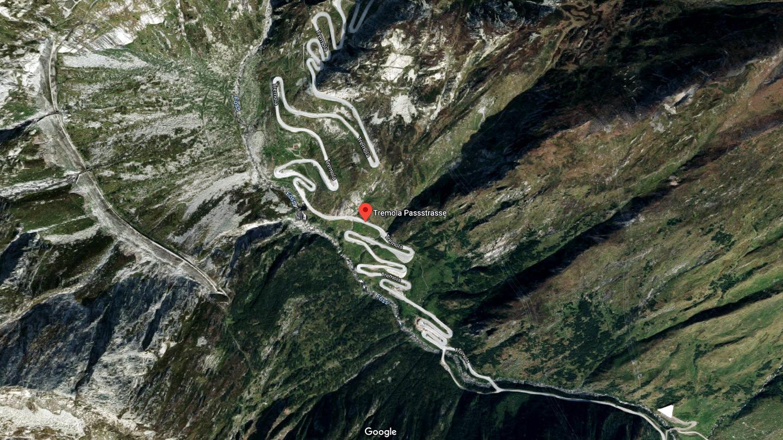 Google Maps bzw. Google Street View Gotthard