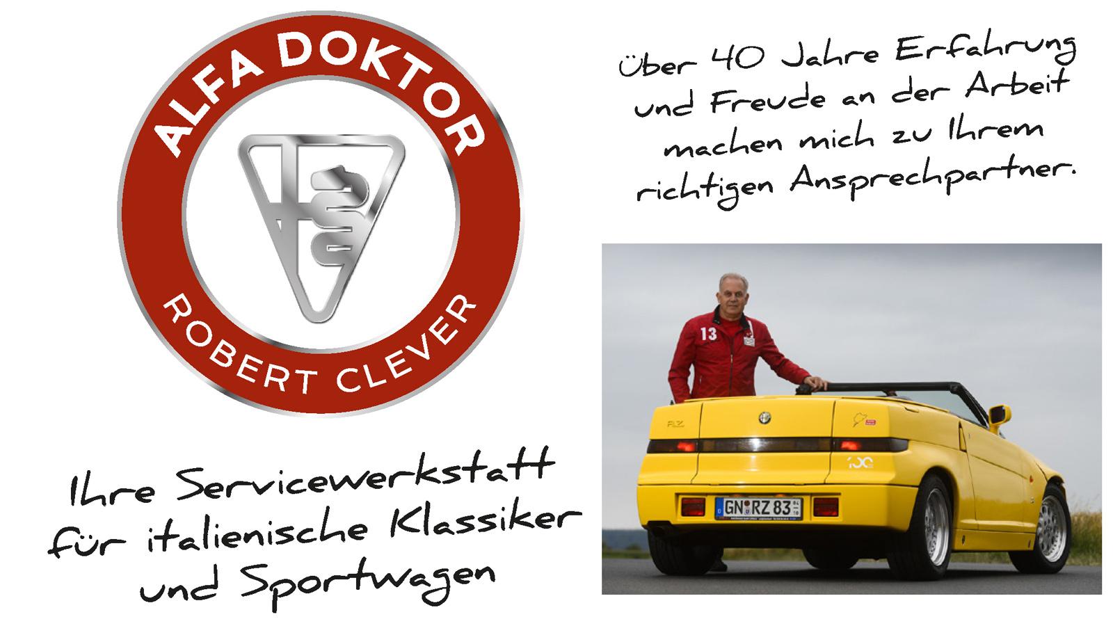 Alfadoktor Robert Clever - Die Werkstatt für italienische Klassiker und Sportwagen