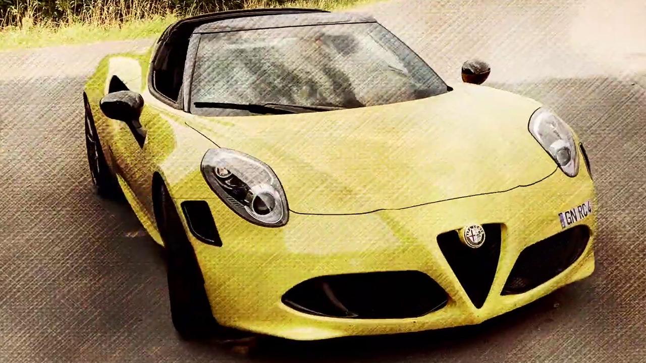 Geiler Sound! Leistungsstarker Motor! Super Sportwagen! Alfadoktor Robert Clever beschreibt den Alfa Romeo 4C